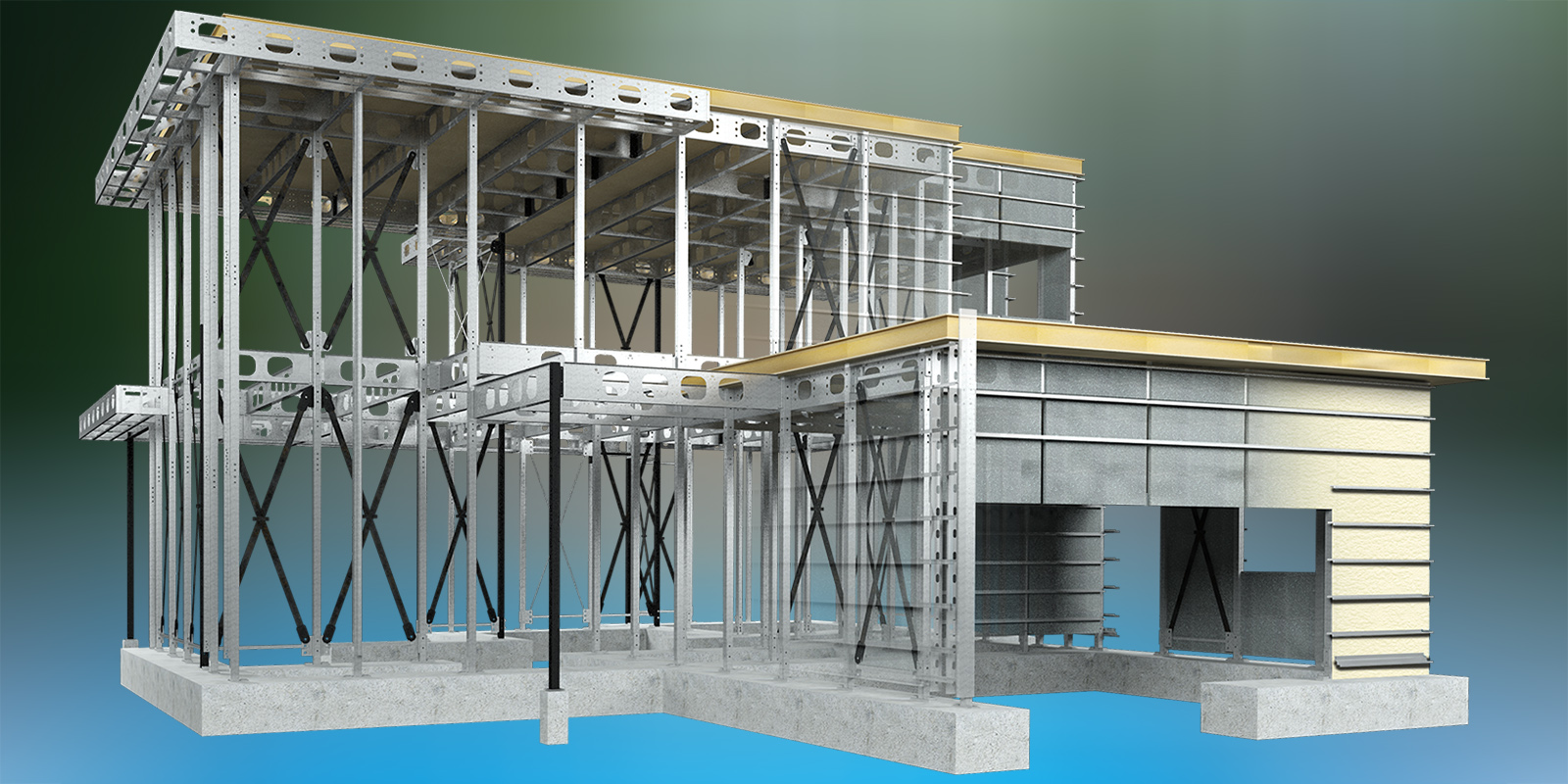 Sustainable Steel Construction Technology & Comfort